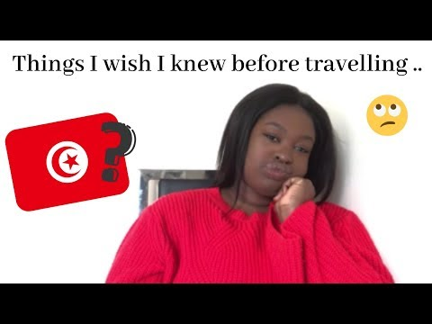 THINGS I WISH I KNEW BEFORE TRAVELLING TO TUNISIA