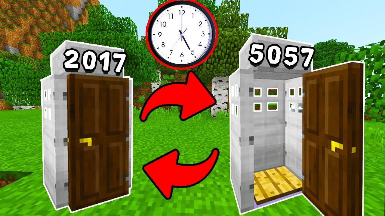 Como hacer una m quina de tiempo que funciona en minecraft for Como echar gotele sin maquina