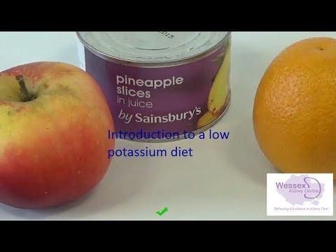 Introduction to low potassium diet