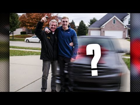 SURPRISING MY DAD WITH A NEW CAR!
