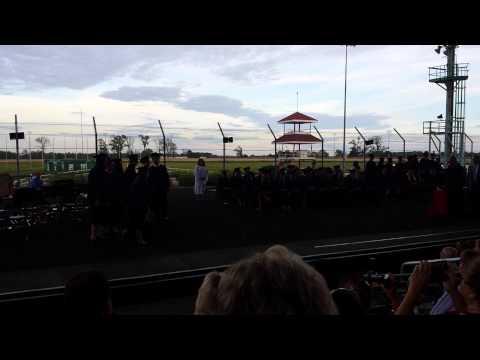 Duquoin High School Graduation 2015 Diploma Presentation