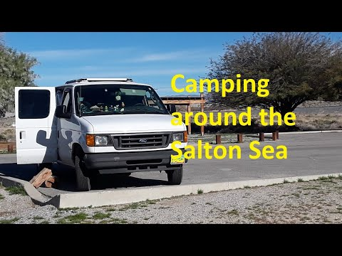 Camping around the Salton Sea