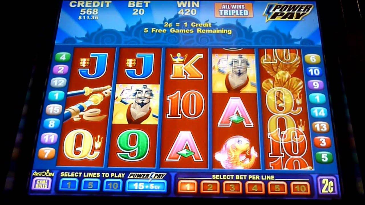 Samurai Drifter Slot Machine Bonus Win Queenslots Youtube