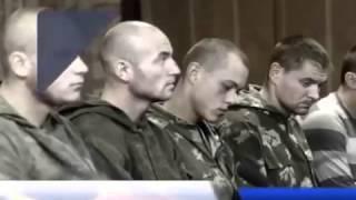 Пленные россияне в Украине