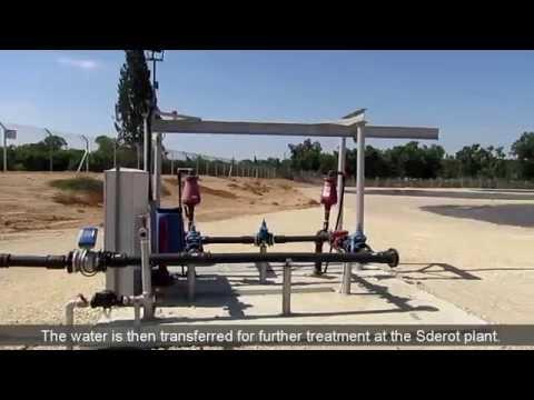 The new wastewater treatment plant in Kibbutz Erez