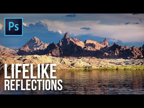 Create Lifelike Water Reflections in Photoshop Using the Power of 3D