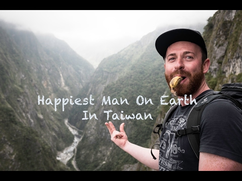 Happiest Man On Earth In Taiwan