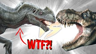 Concept Indominus Rex VS T. Rex [Who Would Win?]