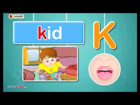 Letter /k/ Sound - Phonics by TurtleDiary