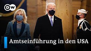 Amtseinführung von Joe Biden - Machtwechsel in den USA   DW Nachrichten