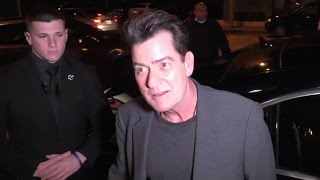 Repeat youtube video Charlie Sheen Reveals His Feeling Towards Donald Trump