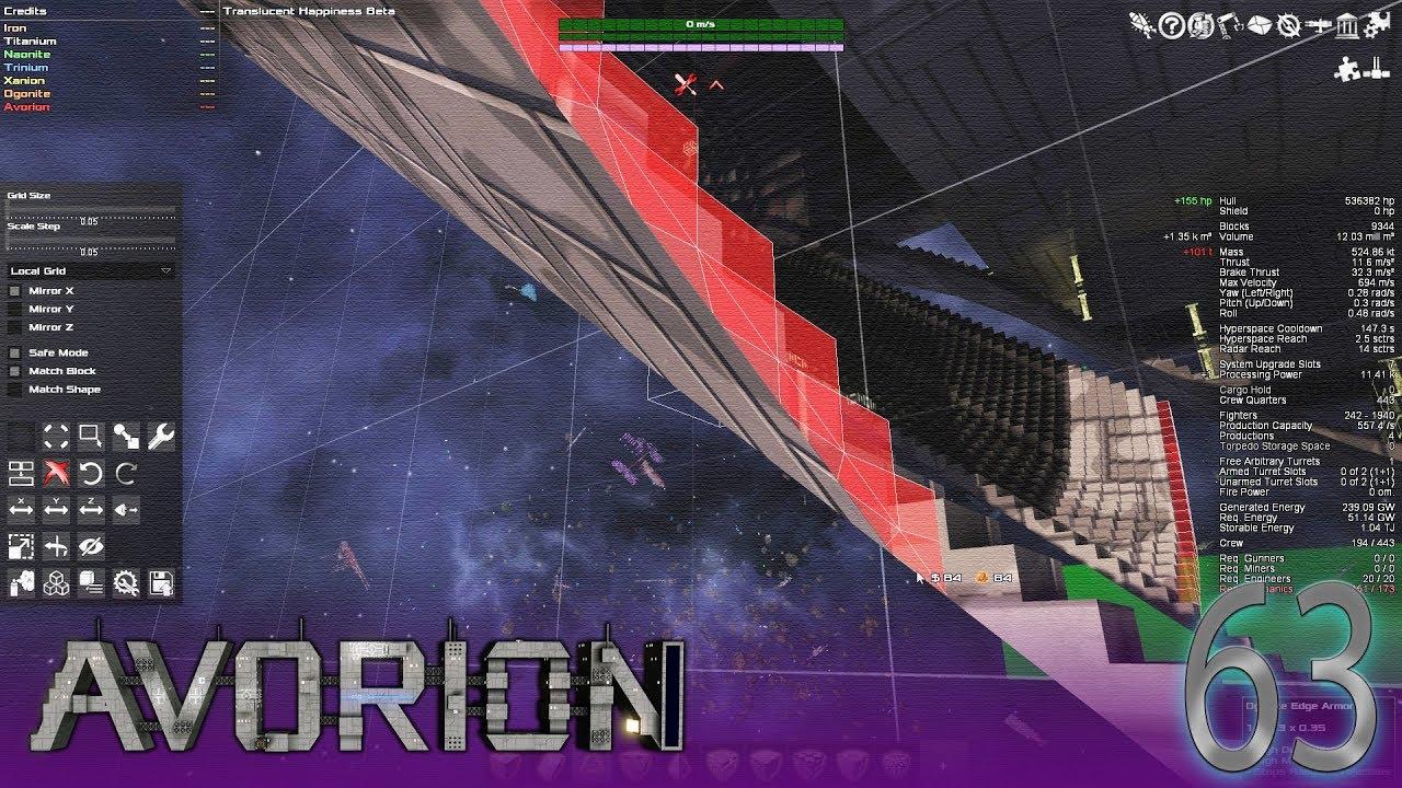 Chariot Carrier Build pt 8 | Avorion #63