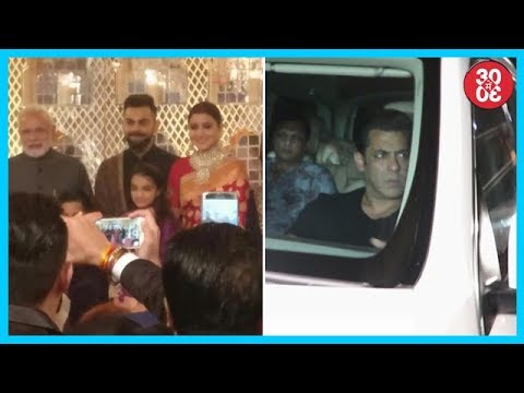 PM Modi Attends Virat-Anushka's Wedding | Khan Family Attends 'TZH's Screening