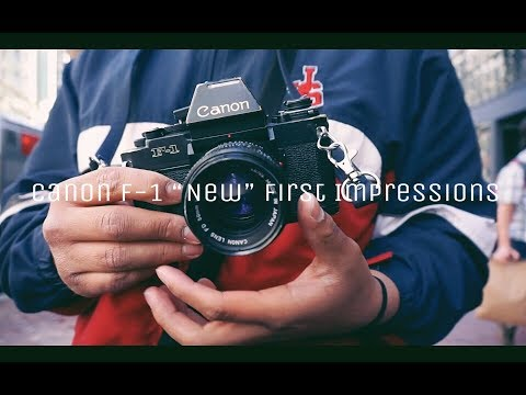 """Canon F-1"""" New"""" First Impressions (SF Street Photography)"""