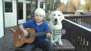 "7 year old Carson Lueders - ""My Dog Buddy"""