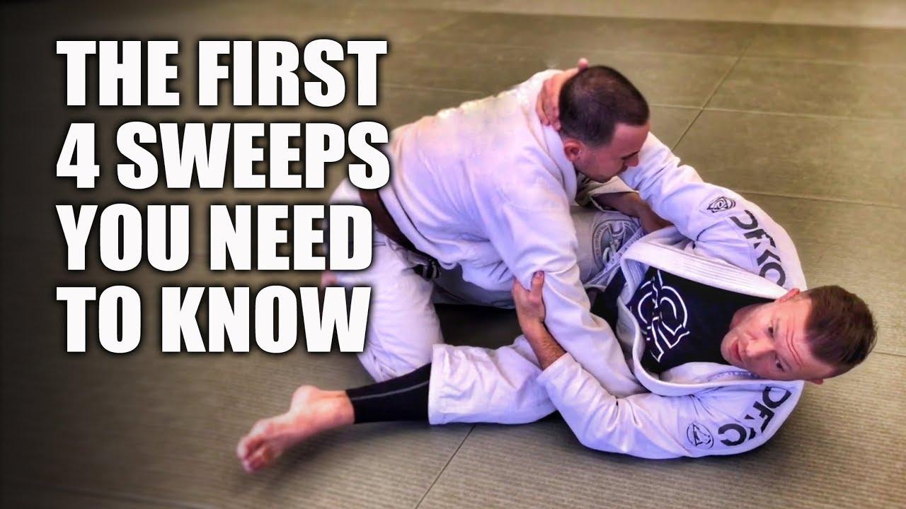 Download The First 4 Sweeps You Need To Know | Jiu-Jitsu Basics