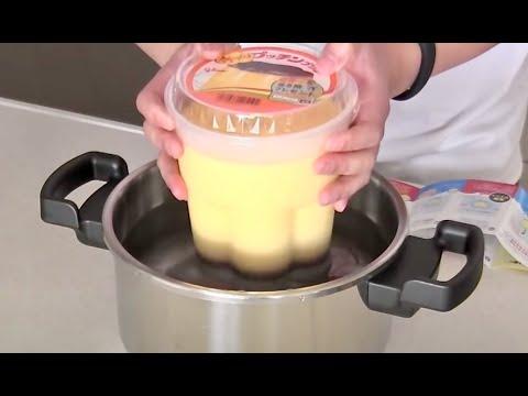Glico Homemade Pucchin Purin (Japanese DIY Giga Pudding) グリコ 手づくりプッチンプリン - OCHIKERON