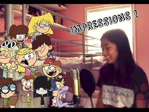 THE LOUD HOUSE : LOUD SISTERS IMPRESSIONS