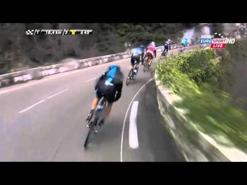Paris nice 2015 stage 6 crash richie porte youtube for Richie porte crash