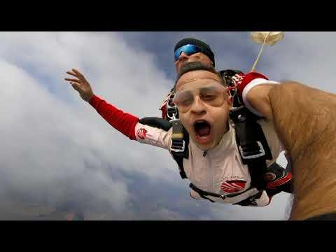 Salto de Paraquedas Filipe 08/10/2017