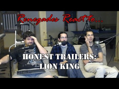 Renegades React to... Honest Trailers: Lion King