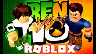 ROBLOX ! - BEN 10 MAD BEN'S VS KEN TENNYSON O MELHOR OMNITRIX ! - BEN 10 FIGHTING GAMES