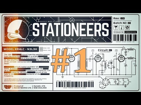 Stationeers Gameplay EP1 - Building a Moon Base