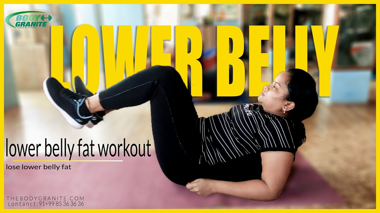 Lower belly fat workout   how to lose lower belly fat workout at HOME   Weight Loss Body Granite