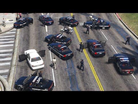 INSANE Amount of Police Backup