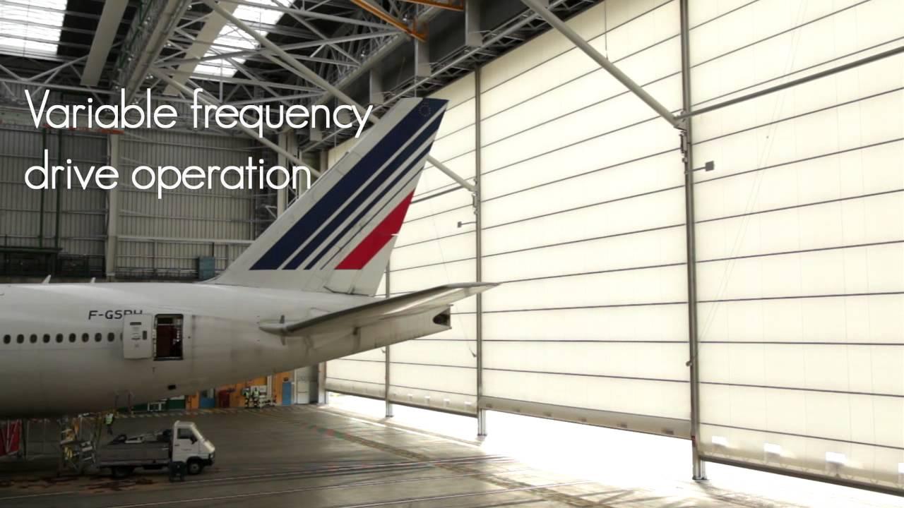 Megadoor Helps Adp France To Improve Their Hangars At