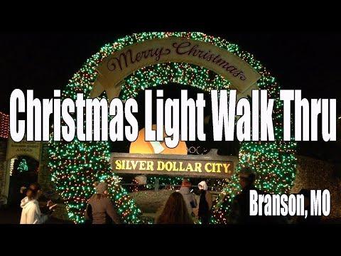 Christmas In Midtown Silver Dollar City Walkthru - Branson Mo