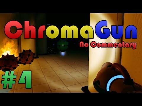 ChromaGun: Full Game Playthrough/Walkthrough   PART 4 [ No Commentary ]  
