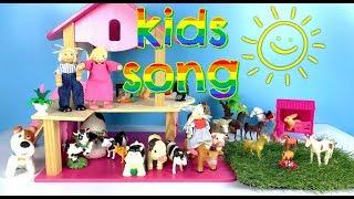 Old Macdonald Had A Farm Kids Songs Cartoon