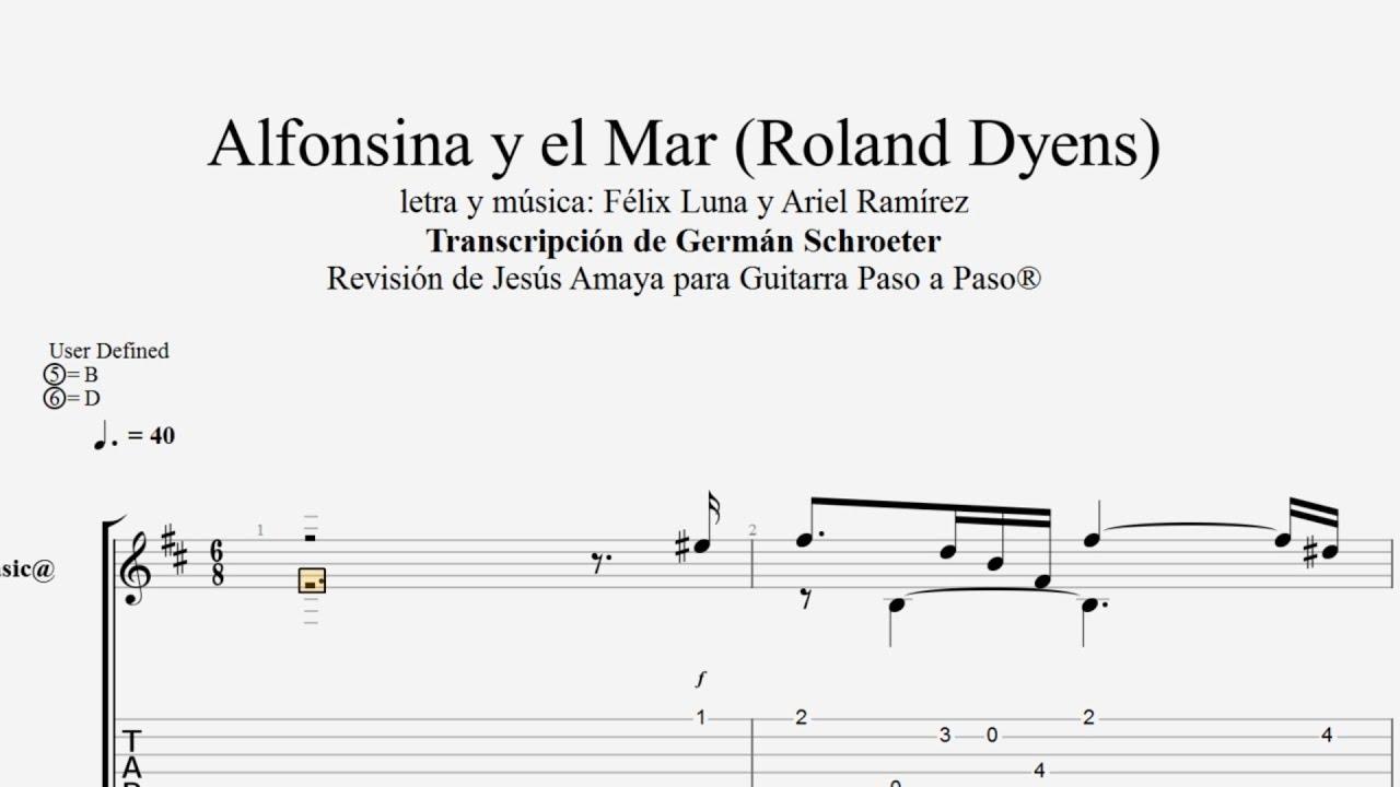 ALFONSINA Y EL MAR ROLAND DYENS PDF