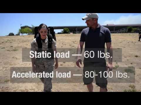 MARINES reducing warfighters weight using new tech