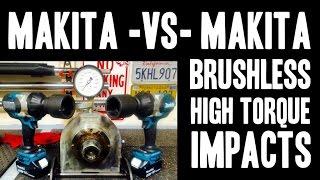 Makita - VS - Makita ( XWT07 / XWT08 ) Brushless High Torque Impact Wrenches