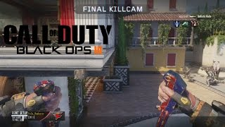TRICKSHOTS WITH THE *NEW* BALLISTIC KNIFE ON BO3!