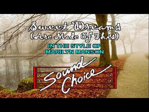 Karaoke Marilyn Manson - Sweet Dreams