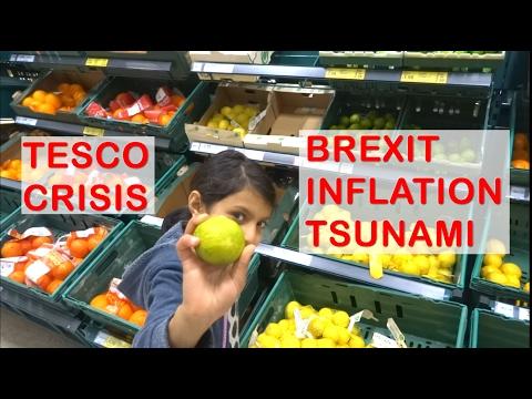 Tesco Crisis - Fake Prices, Brexit Inflation Tsunami to Send Food Prices Soaring 10% 2017