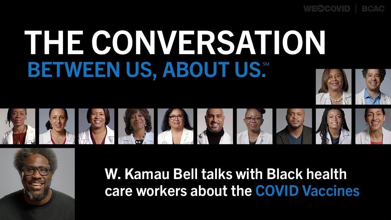 Doctors Debunk COVID 19 Myths Targeting Black Communities :THE CONVERSATION: Between Us, About Us