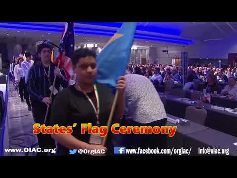 The 2nd and 3rd generation of Iranian-Americans  at 2018 Iran Freedom Convention