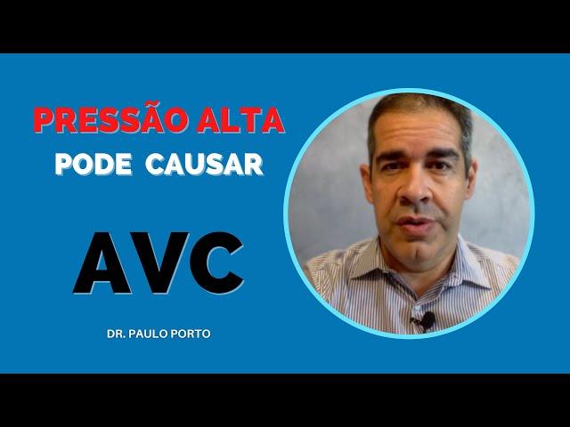 PRESSÃO ALTA E O RISCO DE AVC #PRESSÃOALTA #AVC