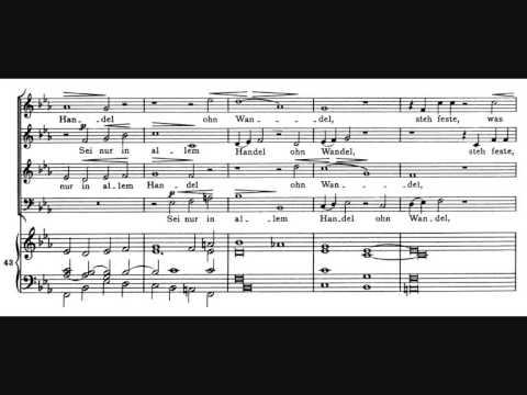 Brahms, Geisliches Lied, op. 30 (1856)