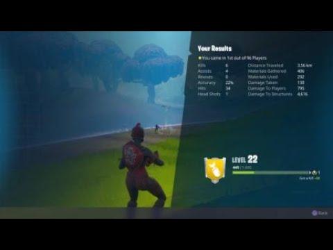 Fortnite win #100 in squad plus hit 1000 kills