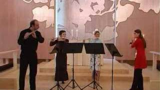 J.S.Bach Air from Suite 3 (Helsinki flute quartet) D.Varelas