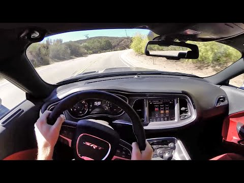 2015 Dodge Challenger SRT Hellcat (Manual) – WR TV POV Canyon Drive