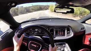 2015 Dodge Challenger SRT Hellcat (Manual) - WR TV POV Canyon Drive
