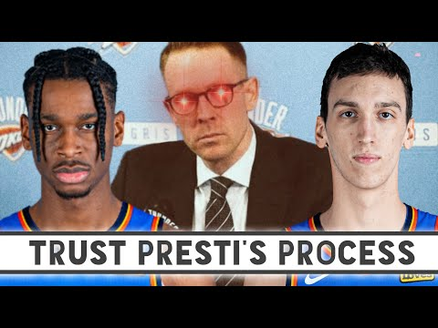How will Sam Presti and the Oklahoma City Thunder rebuild ar
