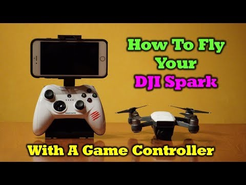 How To Fly Your Spark With a Game Controller
