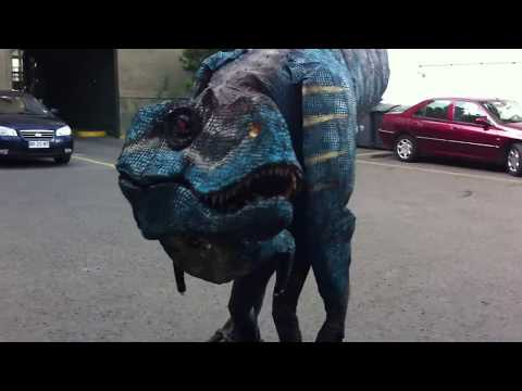 Gorgosaurus costume test